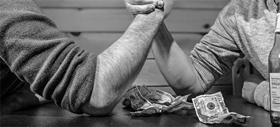 Bei Geld hört die Freundschaft auf - Bild: RyanMcGuire / pixabay.com