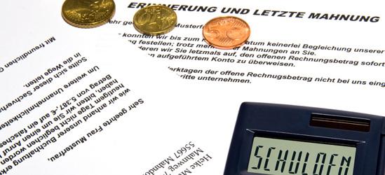 Lohnpfänden lassen bei Schulden // Bild: pixelio.de